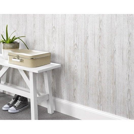 lambris pvc bois clair textur dumaplast x cm x. Black Bedroom Furniture Sets. Home Design Ideas