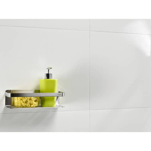 Subvention Amenagement Salle De Bain Handicape ~ Dalle Murale Pvc Blanc Dumawall L 65 X L 37 5 Cm X Ep 4 Mm Leroy