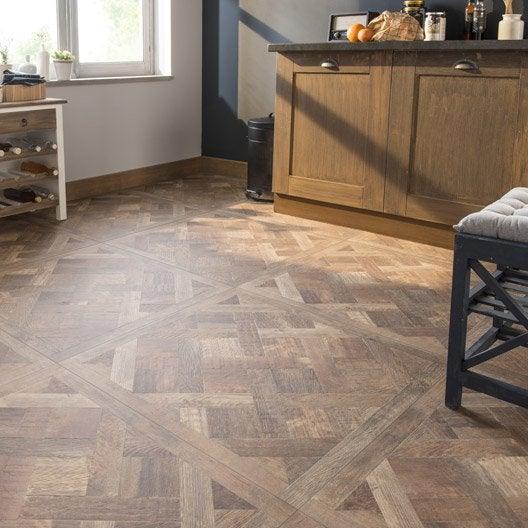 Carrelage sol et mur effet ch ne fonc effet bois chambord for Carrelage aspect bois