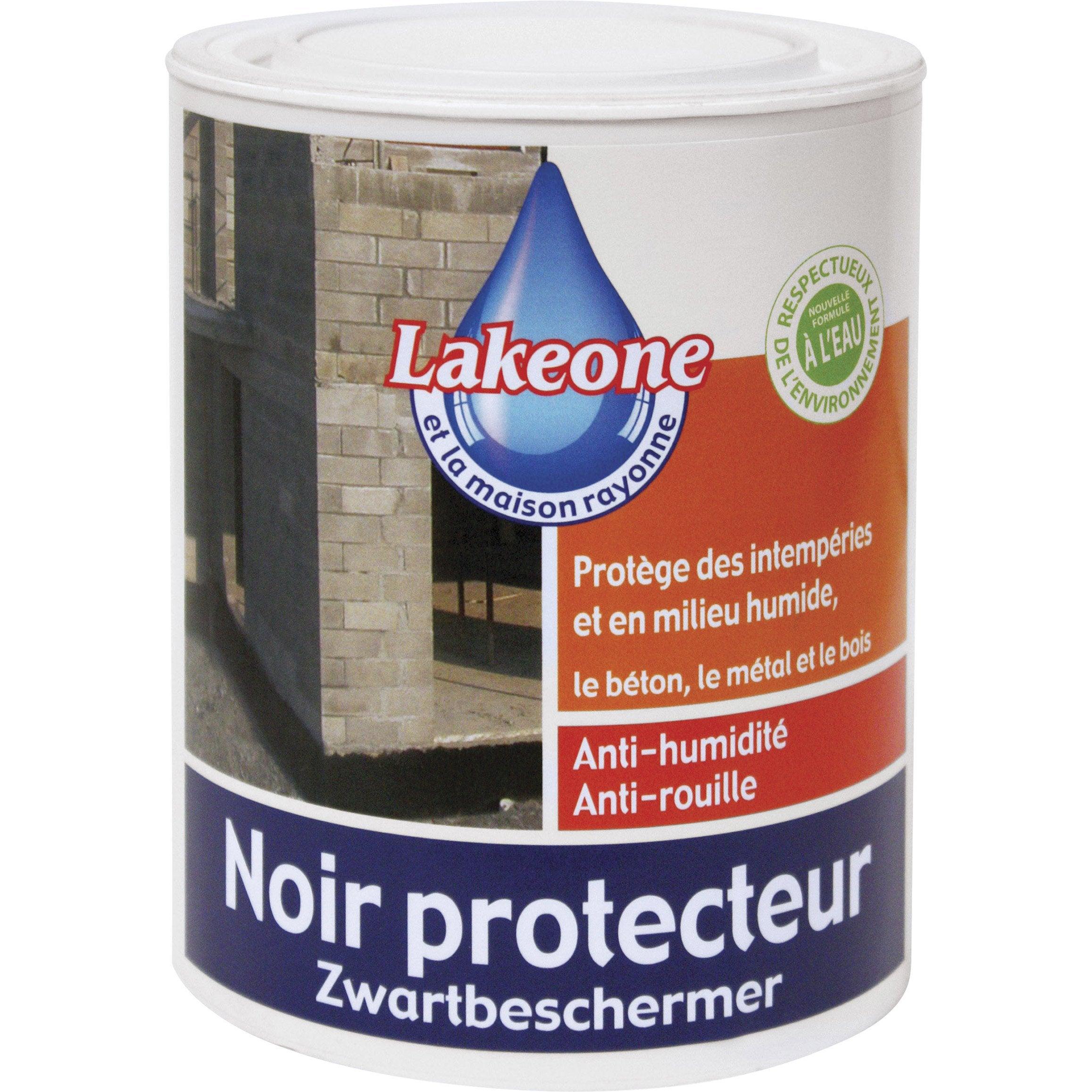 Revêtement Détanchéité Noir Protecteur Lakeone Noir 1 L