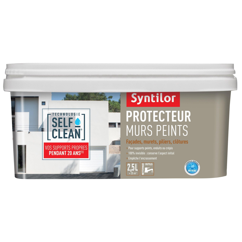 Comment Proteger Un Mur Peint imperméabilisant façade protecteur murs peints self clean incolore 2,5l