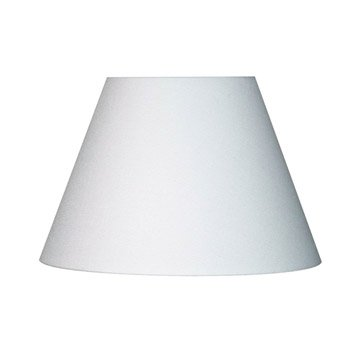Abat-jour Sweet, 45 cm, toiline, blanc-blanc n°0 INSPIRE