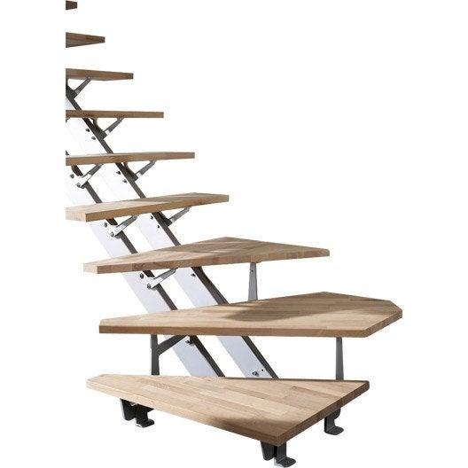 Escalier quart tournant escatwin structure aluminium - Hauteur de marche d escalier ...