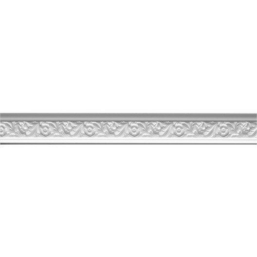 moulure e21 200 x 3 cm leroy merlin. Black Bedroom Furniture Sets. Home Design Ideas