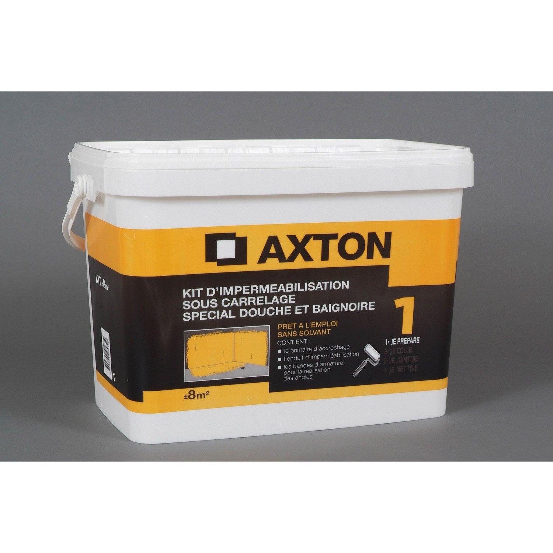 kit imperméabilisation axton, 8 m² | leroy merlin - Etancheite Carrelage Salle De Bain