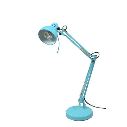 Lampe de bureau bleu sunset inspire for Lampe de bureau jaune