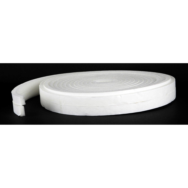 joint de porte et fen tre universel axton de 1 5 mm x 10 m blanc leroy merlin. Black Bedroom Furniture Sets. Home Design Ideas