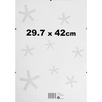 Sous verre, 29 x 42 cm