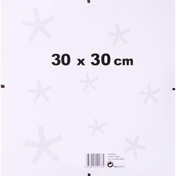 Sous verre, 30 x 30 cm