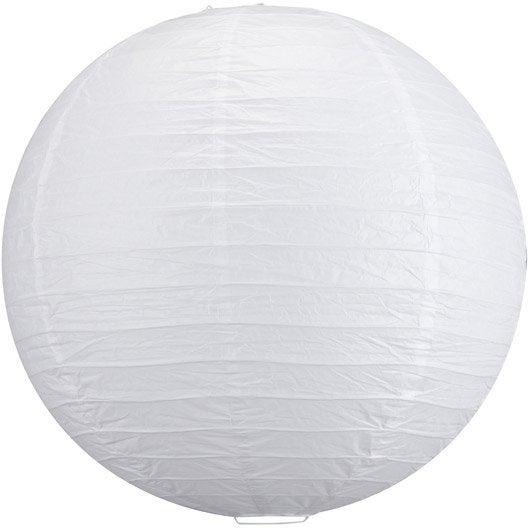 suspension goa inspire blanc diam 60 cm. Black Bedroom Furniture Sets. Home Design Ideas