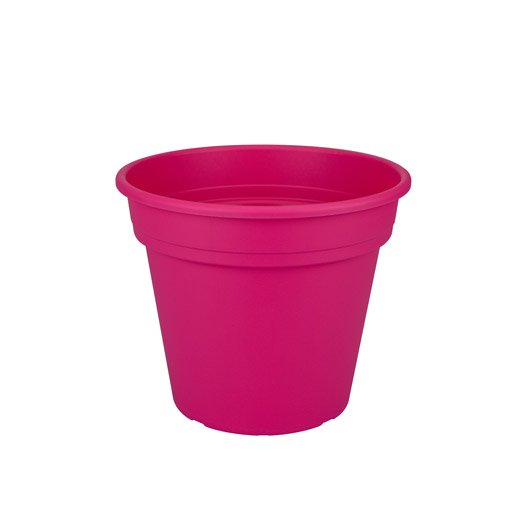 Pot polypropylène NATERIAL Diam.39.62 L.39.62 x l.39.62 x H.33.45 cm fuchsia