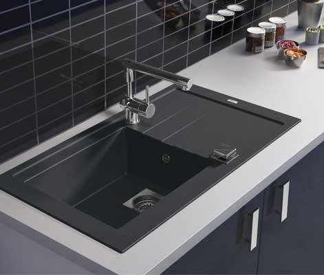 Top une zone de lavage pratique with evier largeur 40 cm for Evier encastrable 40 cm