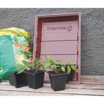 godet de semis et pot pour plant au meilleur prix leroy merlin. Black Bedroom Furniture Sets. Home Design Ideas