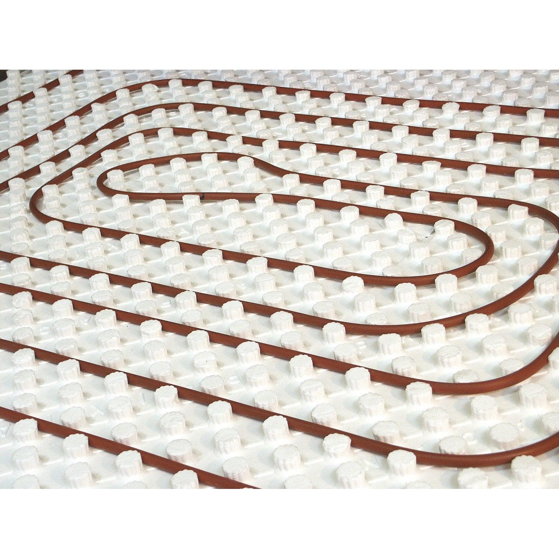 Avis Chauffage Au Sol Electrique kit 1 m² de plancher chauffant basse température easyfloor 75bao +50 m², r  =0.75
