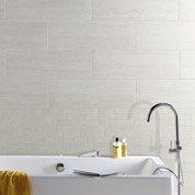Faïence mur gris, Block l.25 x L.75 cm