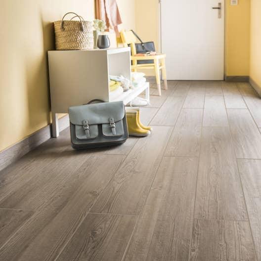 carrelage sol et mur gris clais effet bois islande x. Black Bedroom Furniture Sets. Home Design Ideas