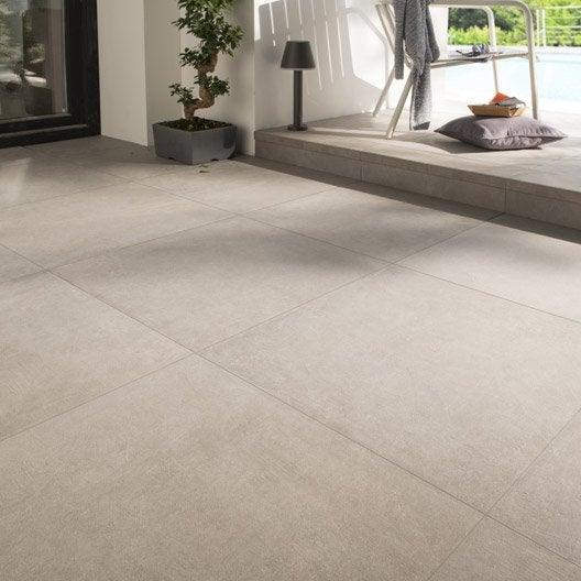 Carrelage ext rieur carrelage pour terrasse leroy merlin for Carrelage effet beton gris