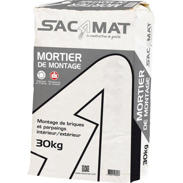 Mortier Prêt Emploi Sacamat Sacamat 30 Kg