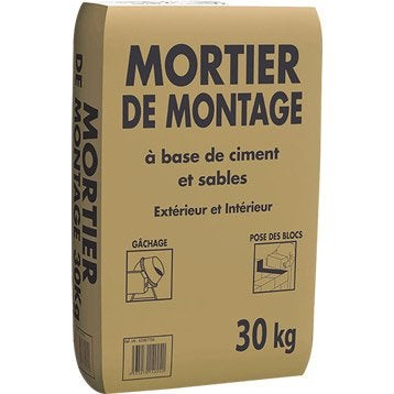 mortier b ton ciment enduit ragr age leroy merlin. Black Bedroom Furniture Sets. Home Design Ideas