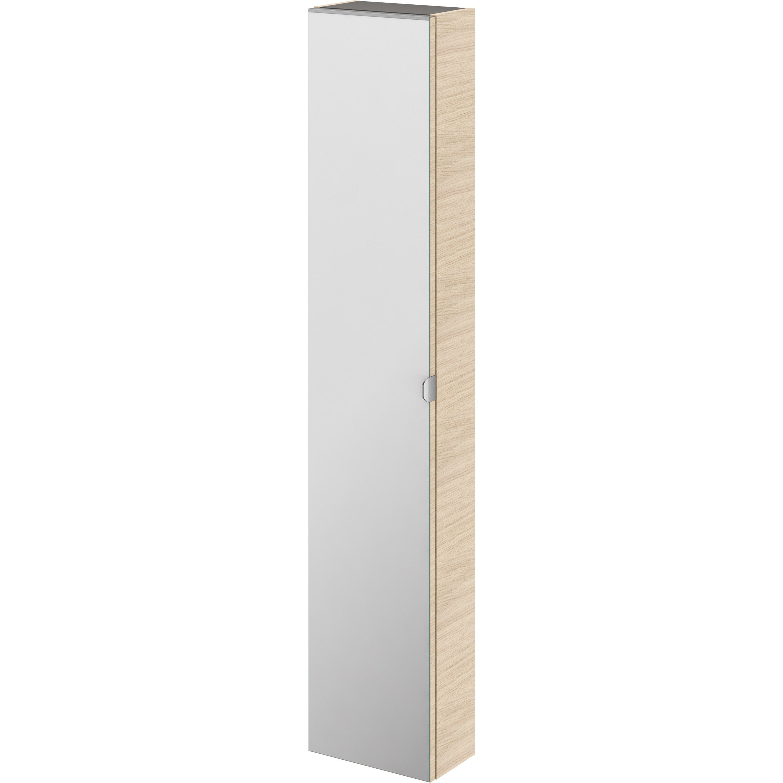 Colonne Neo Leroy Merlin colonne l.30 x h.154 x p.17 cm, effet chêne naturel, neo line