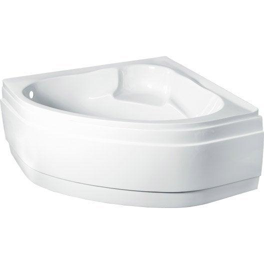 tablier de baignoire cm blanc nerea leroy. Black Bedroom Furniture Sets. Home Design Ideas