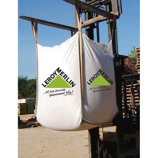 Mélange de sable et gravier en big-bag, 1 m3