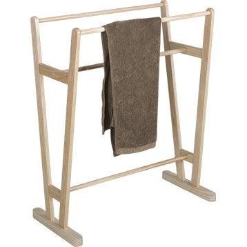 Porte serviettes accessoires et miroir de salle de bains - Leroy merlin porte serviettes ...