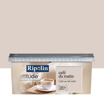 Peinture café au lait  RIPOLIN Attitude café du matin 2.5 l