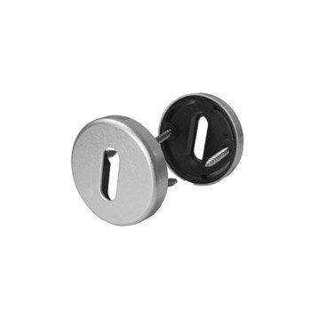 2 rosaces de fonction A10 à trou de clé, aluminium anodisé