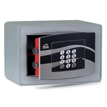 Coffre-fort haute sécurité à code STARK Garant, H18xl28xP20cm, 7.5L