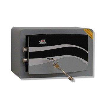 Coffre-fort haute sécurité à clé STARK Garant, H18xl28xP20cm, 7.5L
