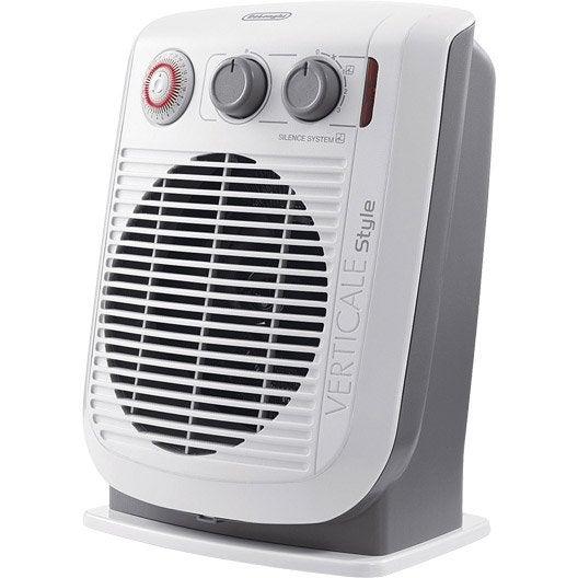 radiateur soufflant salle de bain delonghi hvf3051t 2200 w leroy merlin. Black Bedroom Furniture Sets. Home Design Ideas