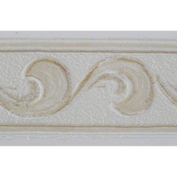 Bordure expansé adhésive Arabesque L.10 m x l.3.5 cm