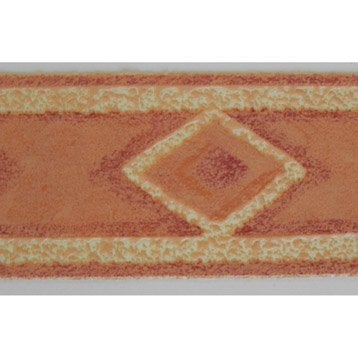 Bordure expansé adhésive Losange L.10 m x l.3.5 cm