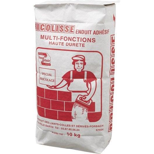 Enduit colle multifonction bricolisse 10 kg leroy merlin for Enduit colle exterieur