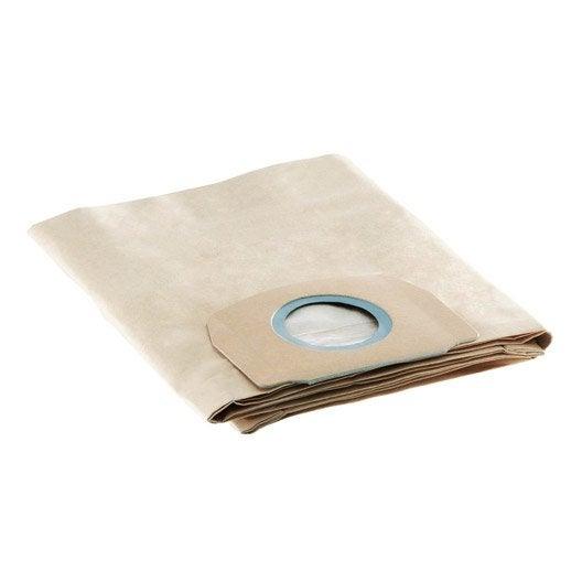 5 Sachets Filtre Papier Karcher Pour Wd5200 5300 5600