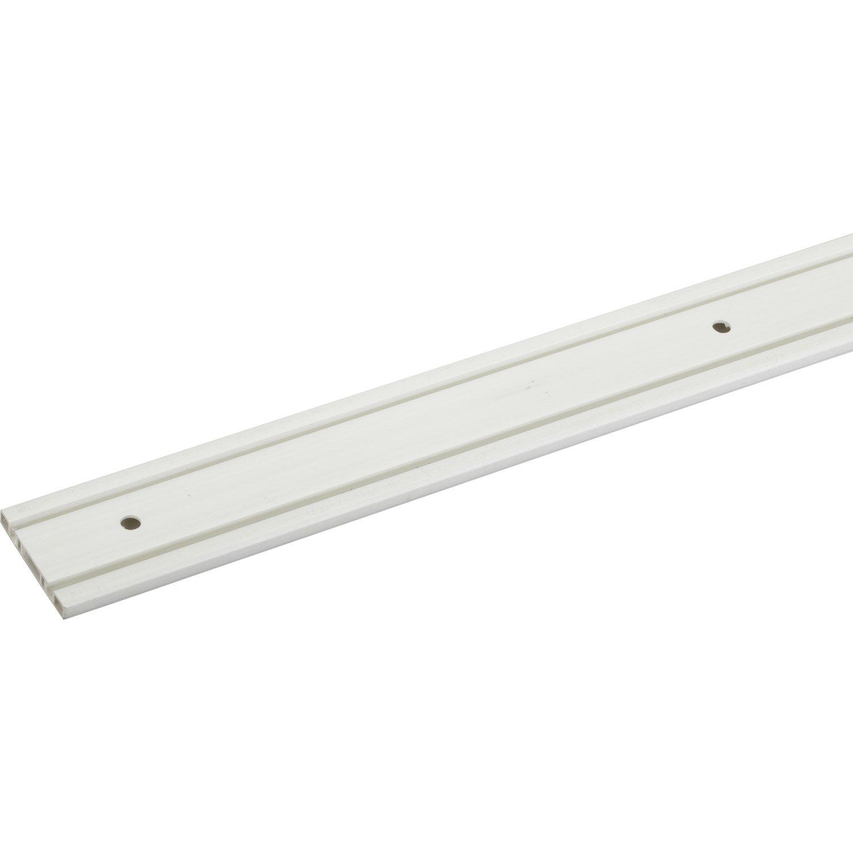 Rail plastique pour portes coulissantes hettich leroy merlin - Rails pour portes coulissantes ...
