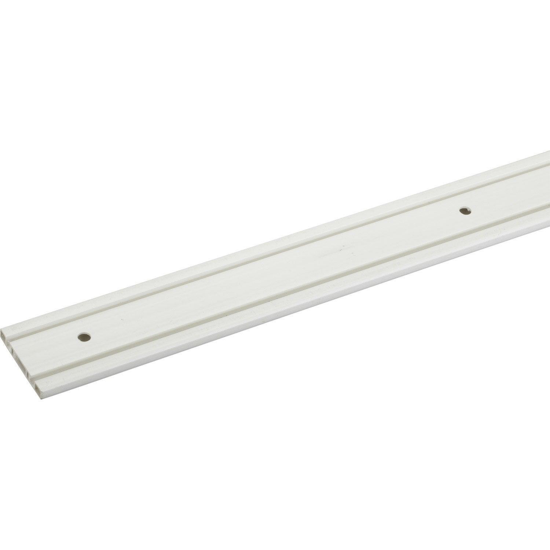 Rail Plastique Pour Portes Coulissantes HETTICH Leroy Merlin - Rail pour porte coulissante