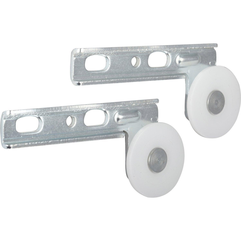 ordinaire Kit de montage acier et plastique pour portes coulissantes HETTICH