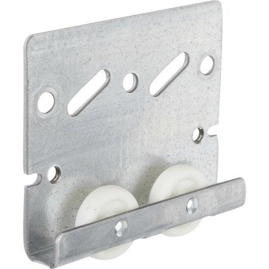 Ferrure en acier zingu et plastique pour portes coulissantes hettich leroy - Comment fabriquer une porte en acier ...
