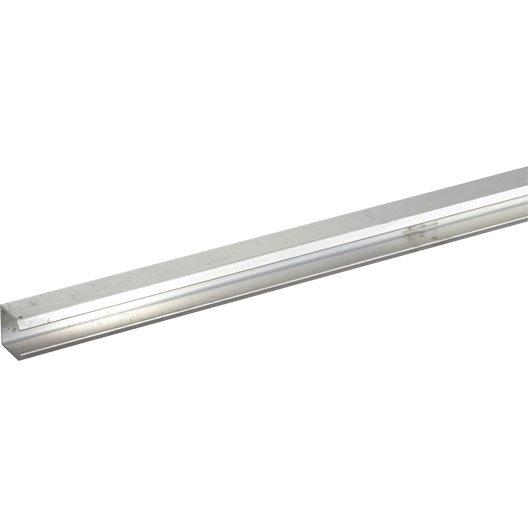 Rail aluminium pour portes coulissantes hettich leroy merlin - Portes coulissantes aluminium ...