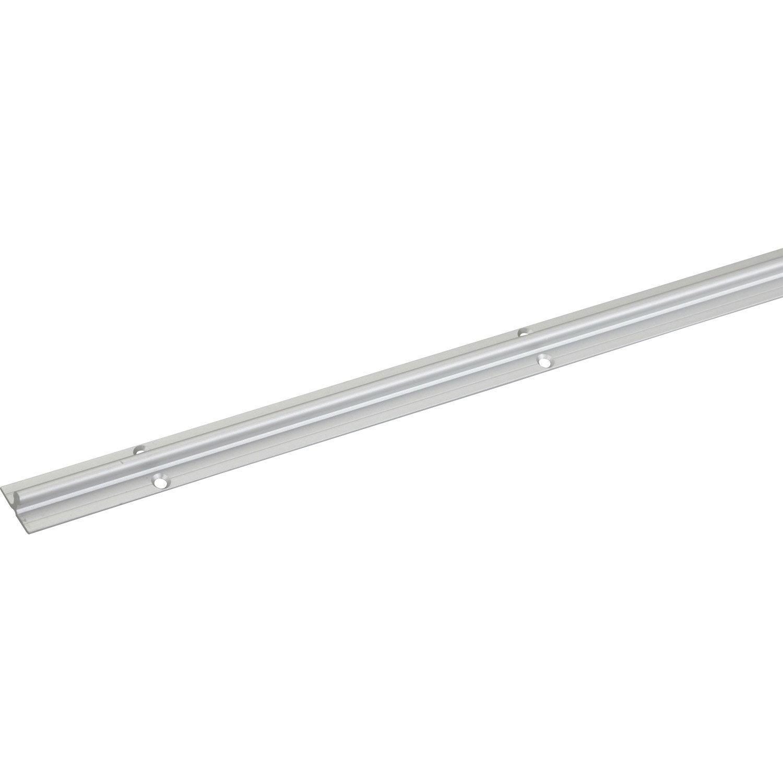 Rail aluminium pour portes coulissantes hettich leroy merlin - Profile pour porte coulissante ...