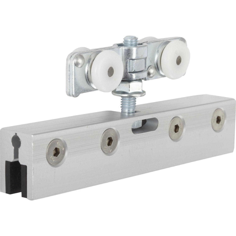 Kit de montage acier et plastique pour portes coulissantes HETTICH ...