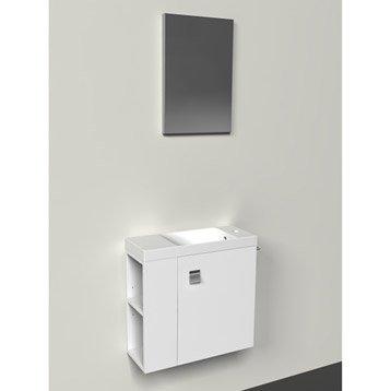 lave main meuble et s che mains wc abattant et lave mains leroy merlin. Black Bedroom Furniture Sets. Home Design Ideas
