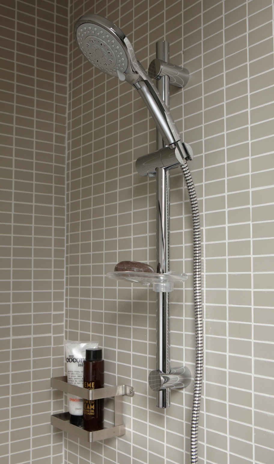 Double vasque salle de bain brico depot for Ensemble de douche leroy merlin