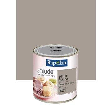 Peinture murale couleur peinture acrylique leroy merlin for Peinture murale marron