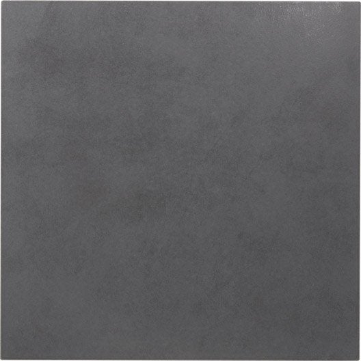 Carrelage sol et mur anthracite effet b ton leeds x l for Carrelage gris anthracite