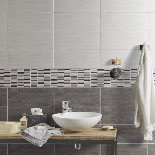 Carrelage Grise Mur Taupe
