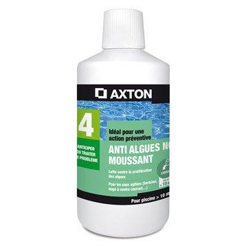 Antialgues piscine AXTON, liquide 1 l 1 kg
