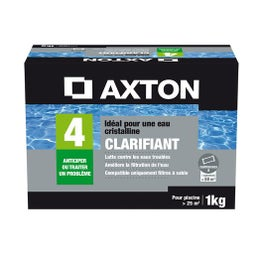 Clarifiant piscine AXTON, tube 1 l 1 kg